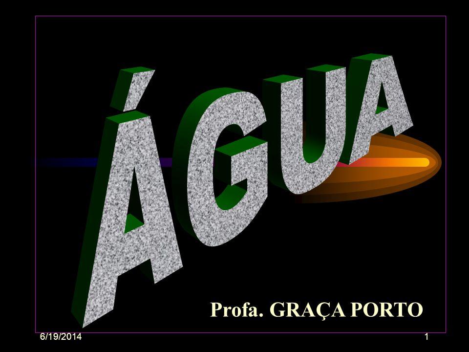6/19/201461 Água = pH, temperatura, gases, alcalinidade, toxicidade.