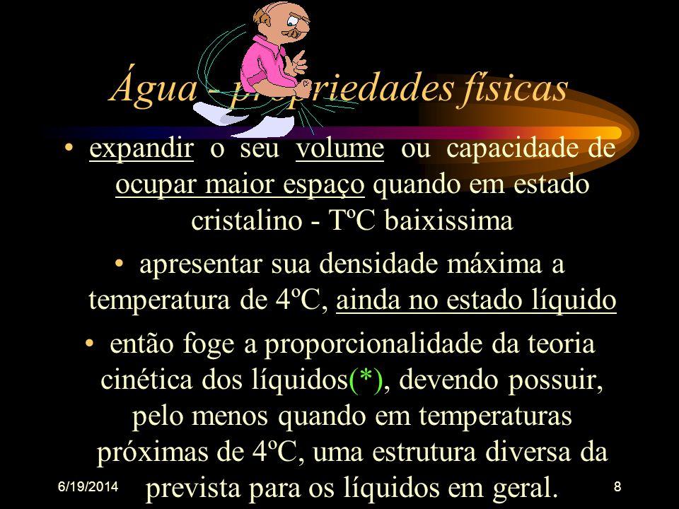 6/19/201478 FOSFATO TOTAL - •Serve: avaliar a produtividade aquática chances de eutrofização •Nutriente limitante (fósforo e nitrogênio) •Interfere no sist.