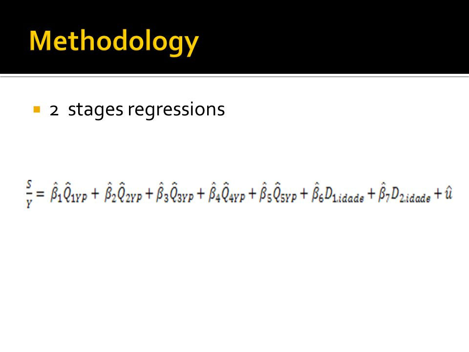  2 stages regressions (7)