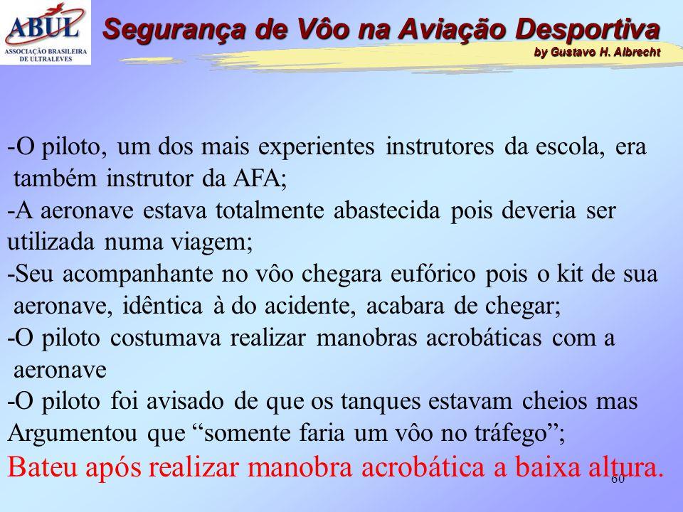 59 Segurança de Vôo na Aviação Desportiva by Gustavo H. Albrecht