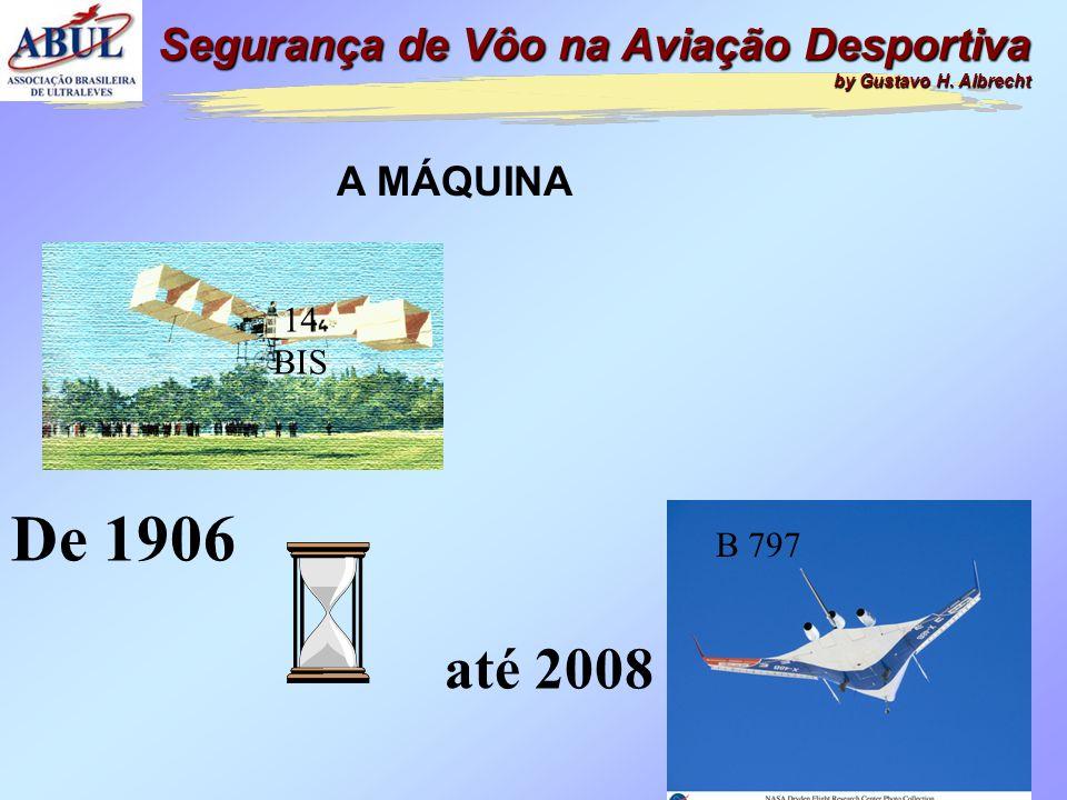 7 De 1906 até 2008 A MÁQUINA Segurança de Vôo na Aviação Desportiva by Gustavo H.