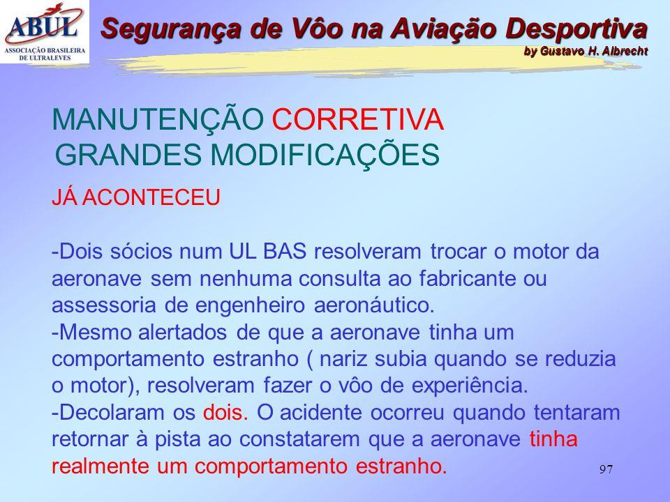 96 Segurança de Vôo na Aviação Desportiva by Gustavo H. Albrecht