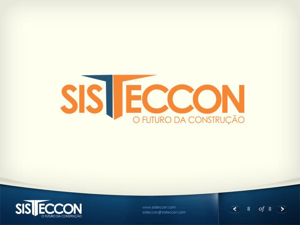 8 of 8 www.sisteccon.com sisteccon@sisteccon.com