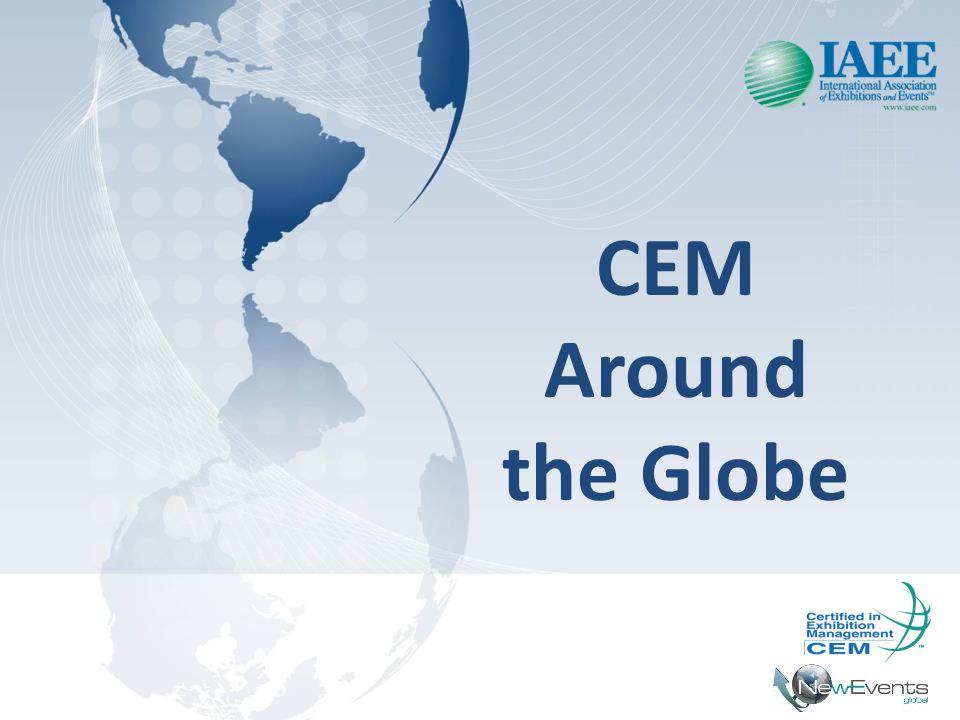 CEM Europa • Começou em 2004.• 43 profissionais já com certificação CEM.
