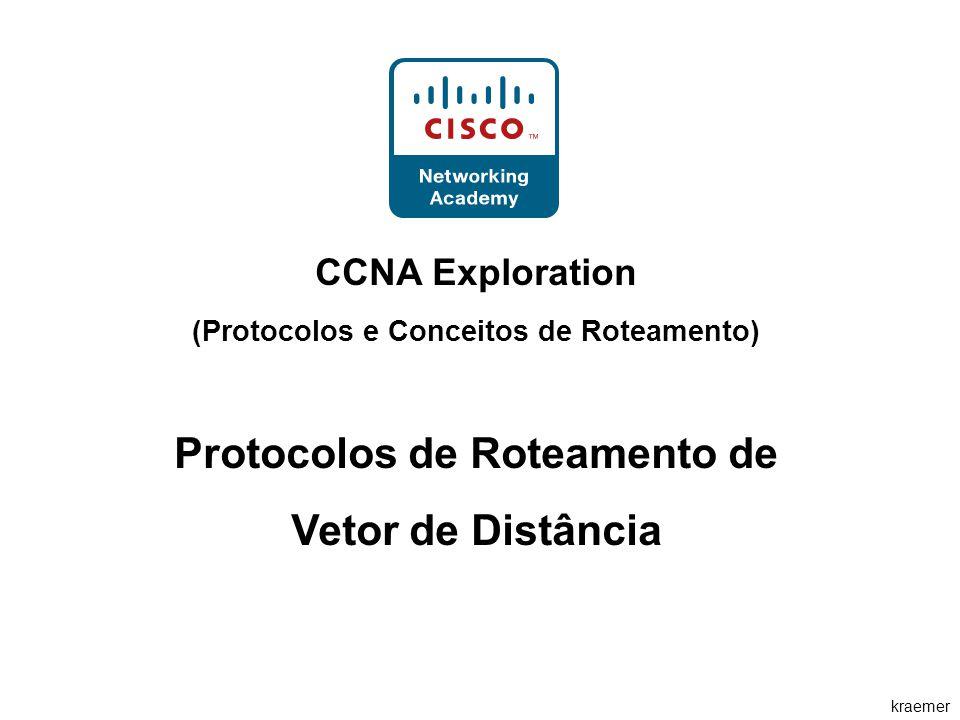 kraemer CCNA Exploration (Protocolos e Conceitos de Roteamento) Protocolos de Roteamento de Vetor de Distância