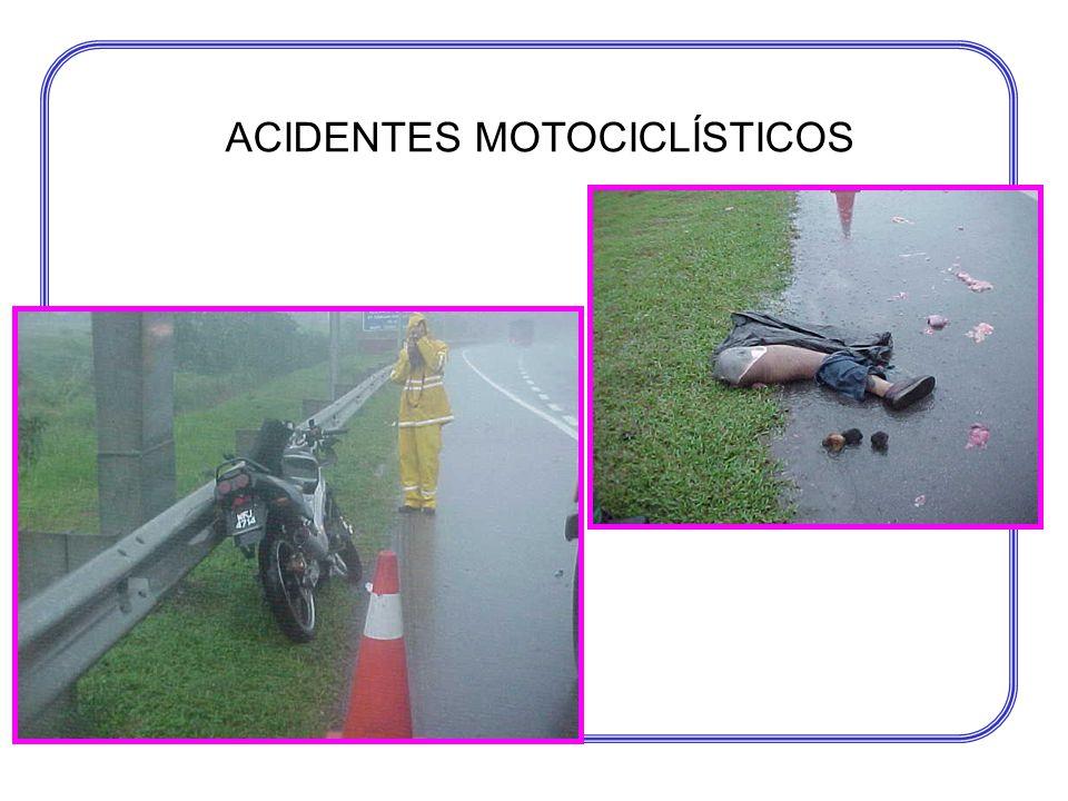 ACIDENTES MOTOCICLÍSTICOS