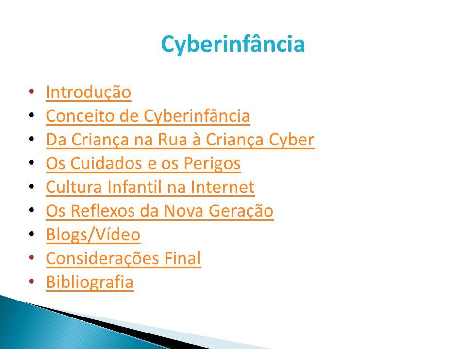 Bibliografia DORNELLES, Leni Vieira, Infâncias que nos escapam: da criança na rua à criança cyber.