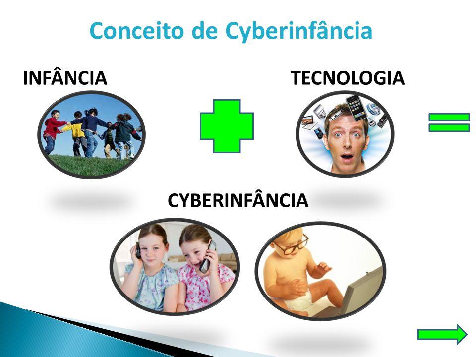 Conceito de Cyberinfância A Ciberinfância , termo cunhado por Dornelles (2005), diz respeito à infância que está afetada pela tecnologia.