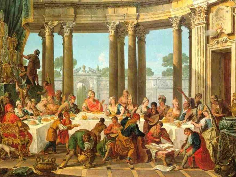 + Qual a nossa resposta? - dos primeiros que encontram sempre motivos, desculpas, que impedem de participar do Banquete divino? Dos que estão tão imer