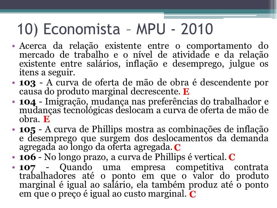 •Acerca da relação existente entre o comportamento do mercado de trabalho e o nível de atividade e da relação existente entre salários, inflação e des
