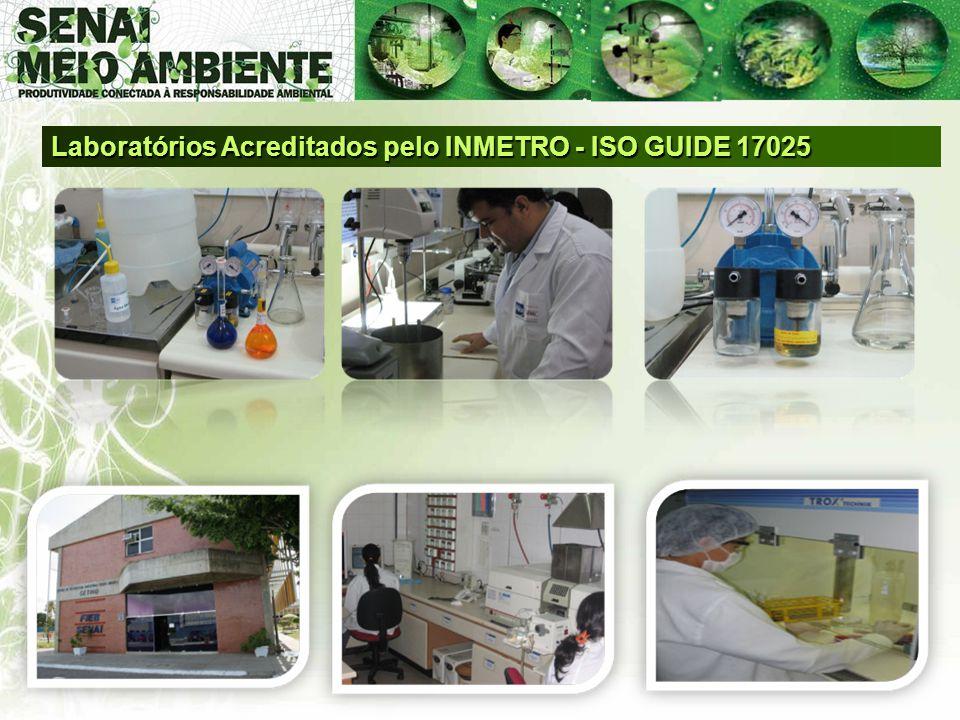 Laboratórios Acreditados pelo INMETRO - ISO GUIDE 17025