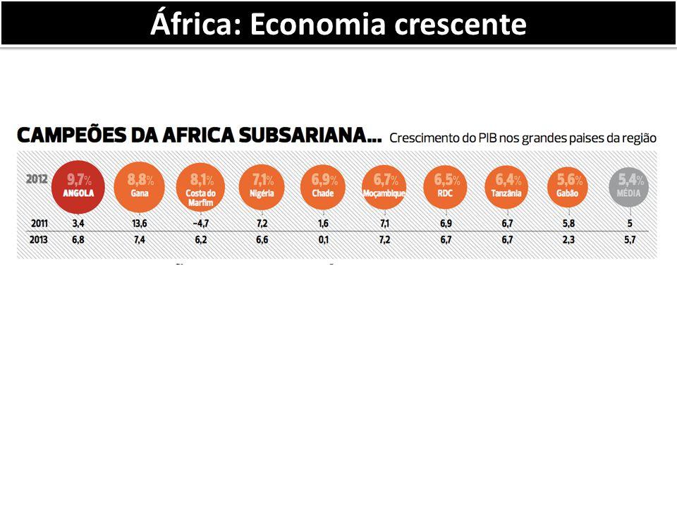 África: Economia crescente