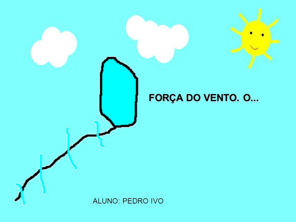ALUNO: PEDRO HENRIQUE VENTO É FELIZ...