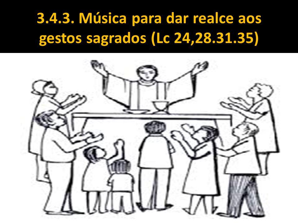 3.4.3. Música para dar realce aos gestos sagrados (Lc 24,28.31.35)