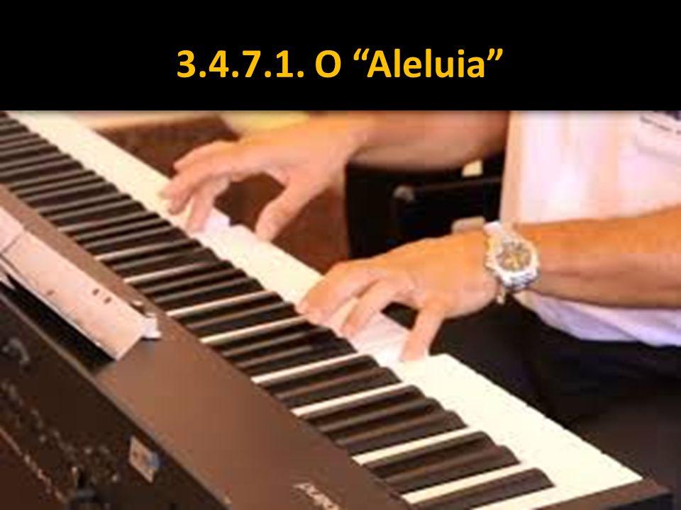 """3.4.7.1. O """"Aleluia"""""""