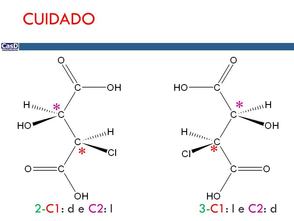 * * * * CUIDADO 2-C1: d e C2: l3-C1: l e C2: d