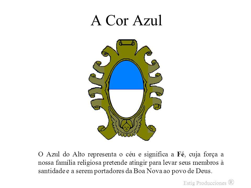 O Anjo O representa a presença de São Gaspar, nosso fundador, que sustenta a sua família religiosa e a protege com a força de sua intercessão. Estig P
