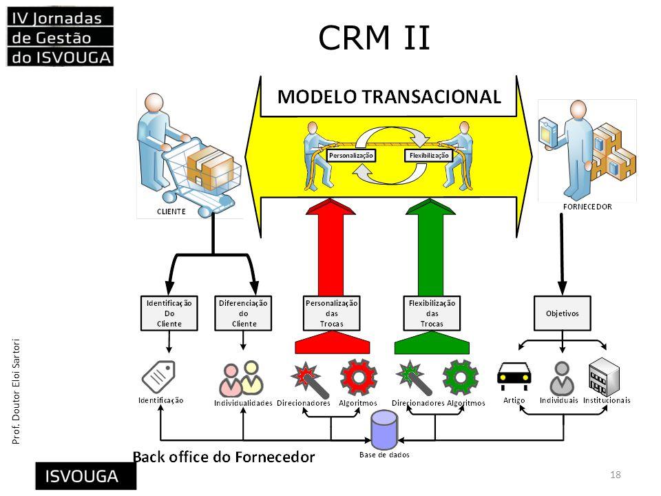 Prof. Doutor Eloi Sartori CRM II 18