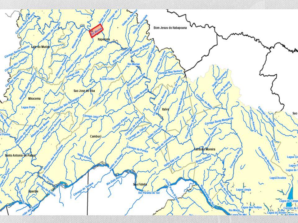Localização As nascentes localizam-se na Serra das Perobas, Município de Mirai – MG e desagua no rio Paraíba do Sul, no RJ. Faz parte da Bacia Baixo P