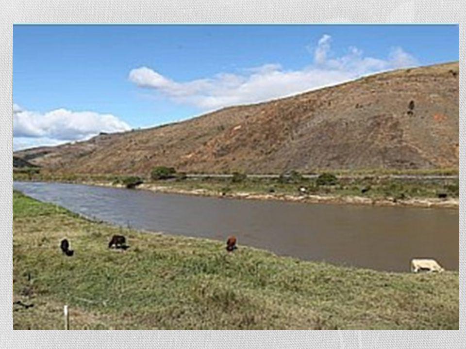 Histórico da Área • Através do Rio Muriaé que o processo de povoamento da região teve início, pois era utilizado como meio de transporte para pessoas