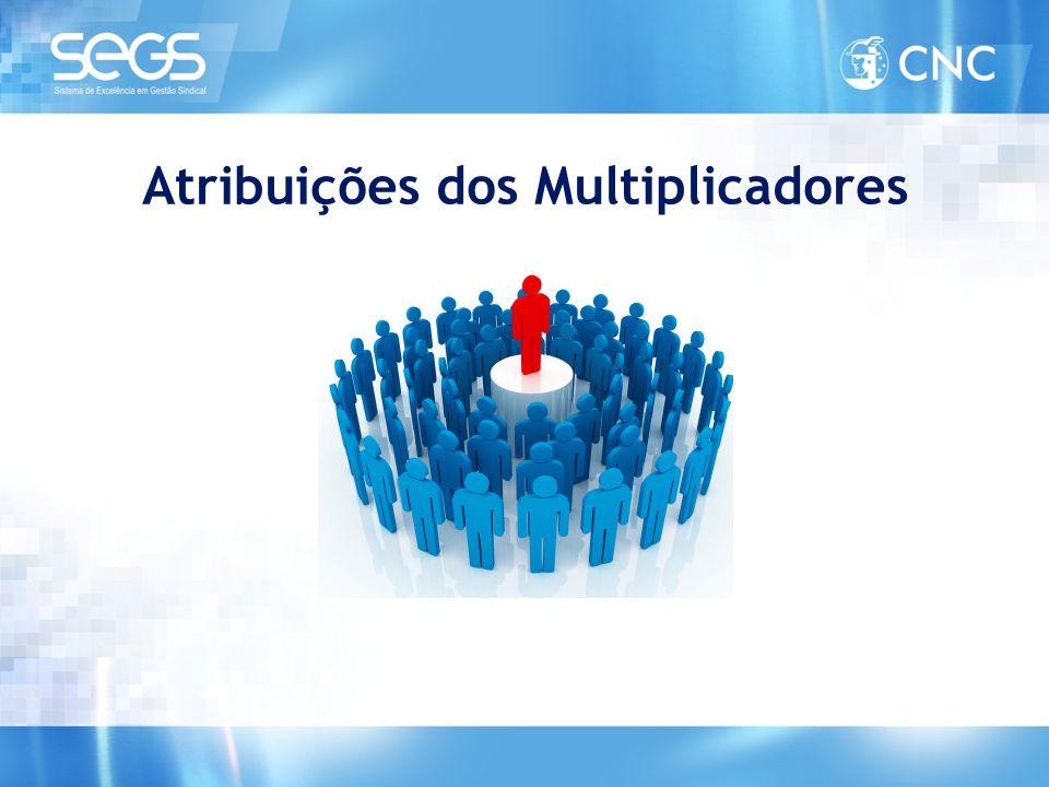 Atribuições dos Multiplicadores