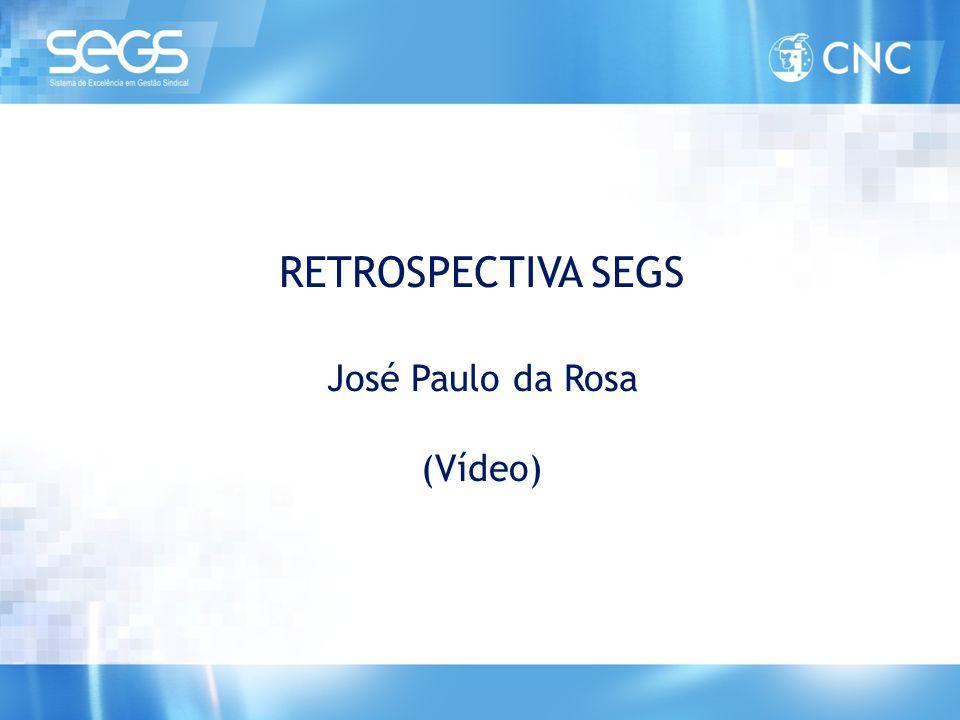 VIII Congresso do Sicomercio 5, 6 e 7 nov 2007 – Hotel Sofitel - RJ • Construção dos Planos Estratégicos das Federações e Sindicatos • Participação dos Multiplicadores como Facilitadores nas Mesas • Lançamento do SEGS • Adesão de Federações e Sindicatos RETROSPECTIVA SEGS