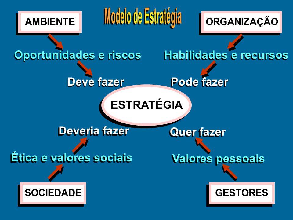 Atividade de gestão Atividade de gestão Podemos conceituar as atividades de gestão como: –Formulação dos objetivos estratégicos: Intenções e diretrize