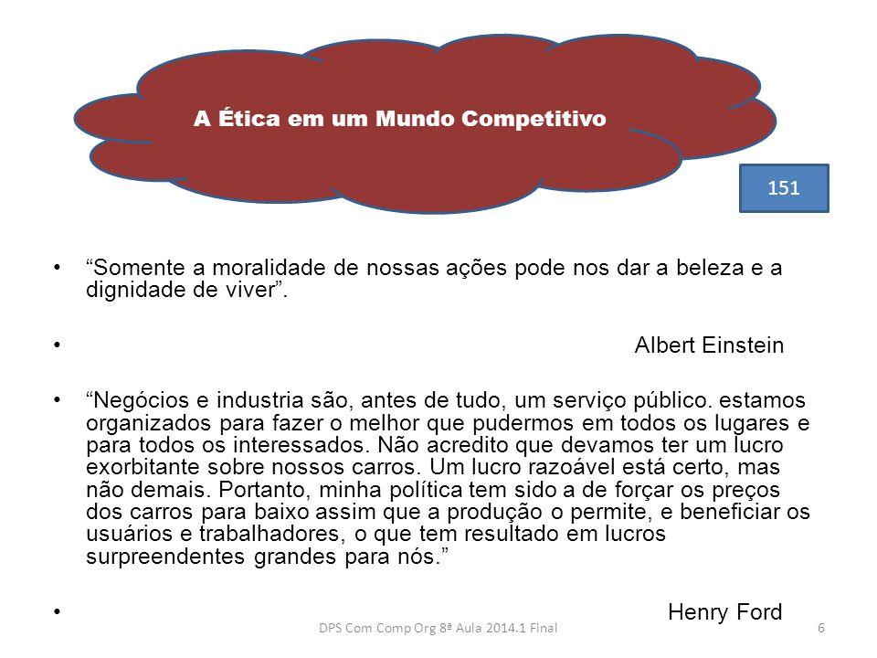 """•""""Somente a moralidade de nossas ações pode nos dar a beleza e a dignidade de viver"""". • Albert Einstein •""""Negócios e industria são, antes de tudo, um"""