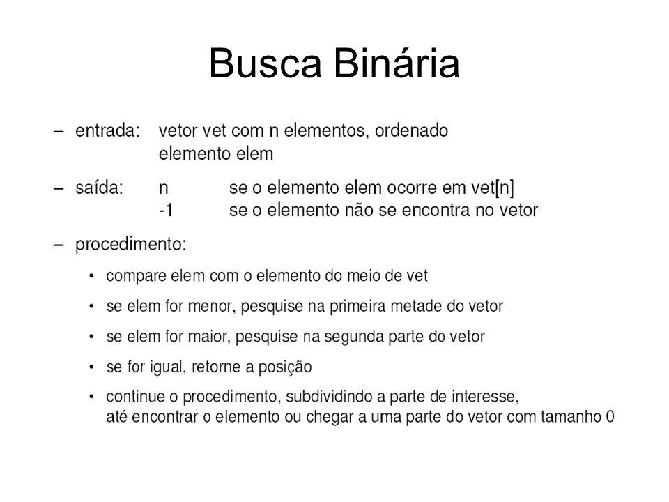 Busca Binária
