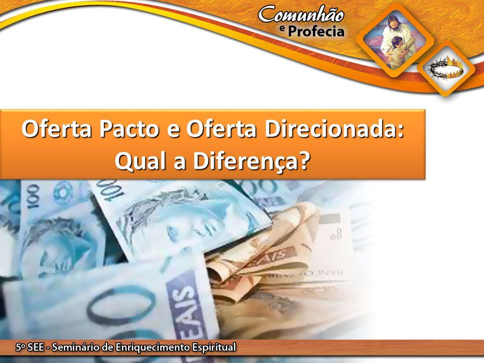 Oferta Pacto e Oferta Direcionada: Qual a Diferença?