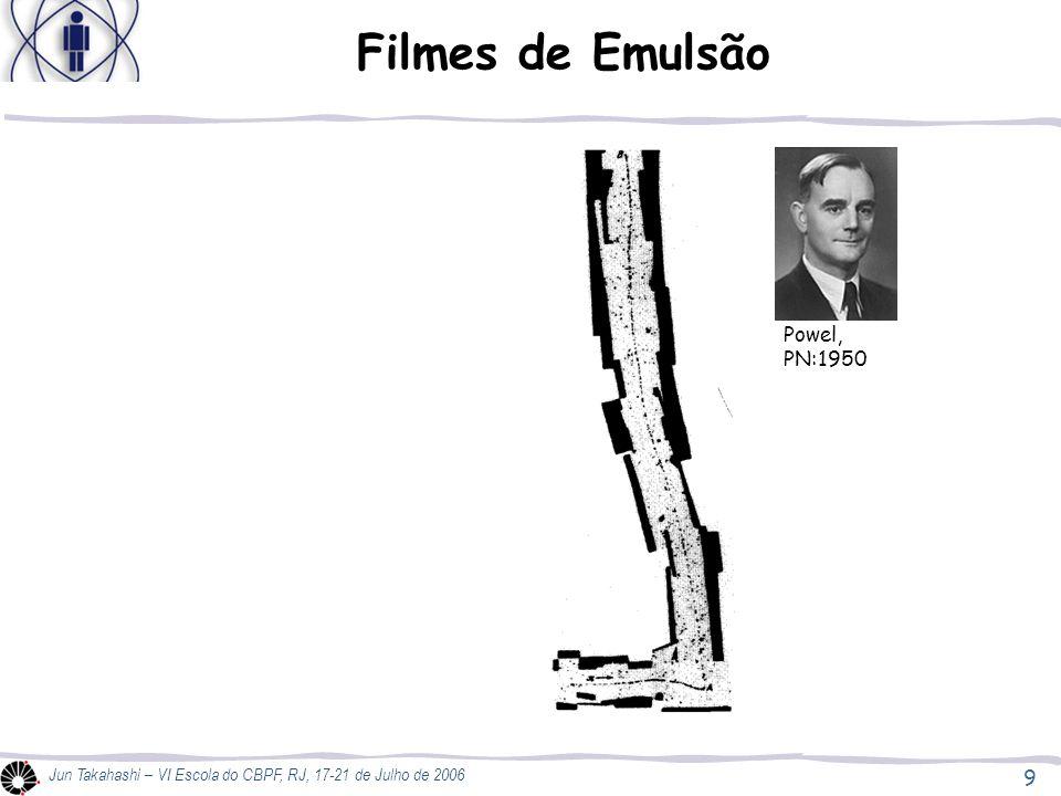 9 Jun Takahashi – VI Escola do CBPF, RJ, 17-21 de Julho de 2006 Filmes de Emulsão Powel, PN:1950