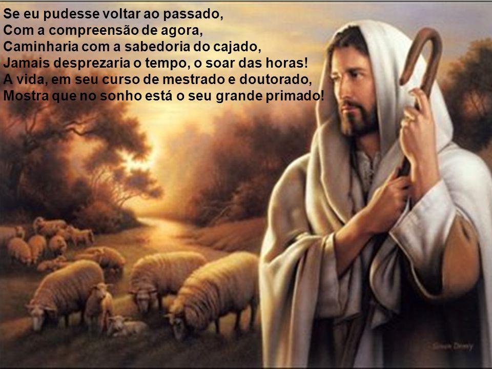 Pessoas assombradas pela ganância, Nem no altar de Deus encontram a bonança, No orgulho, precisam ser o melhor, Não desenvolvem na vida um sentimento