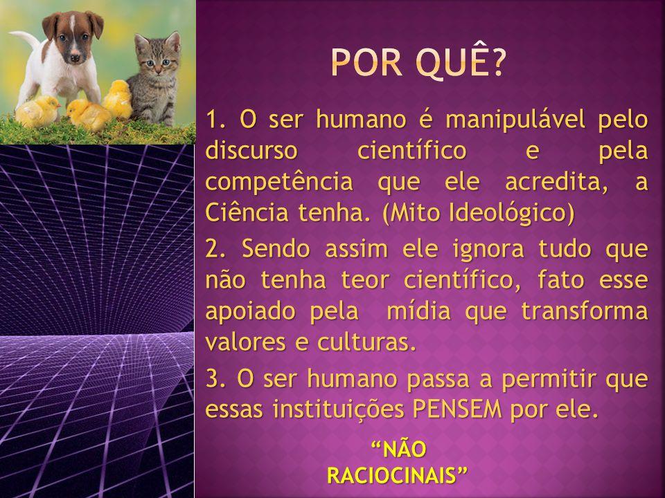 NÃO RACIOCINAIS 1.