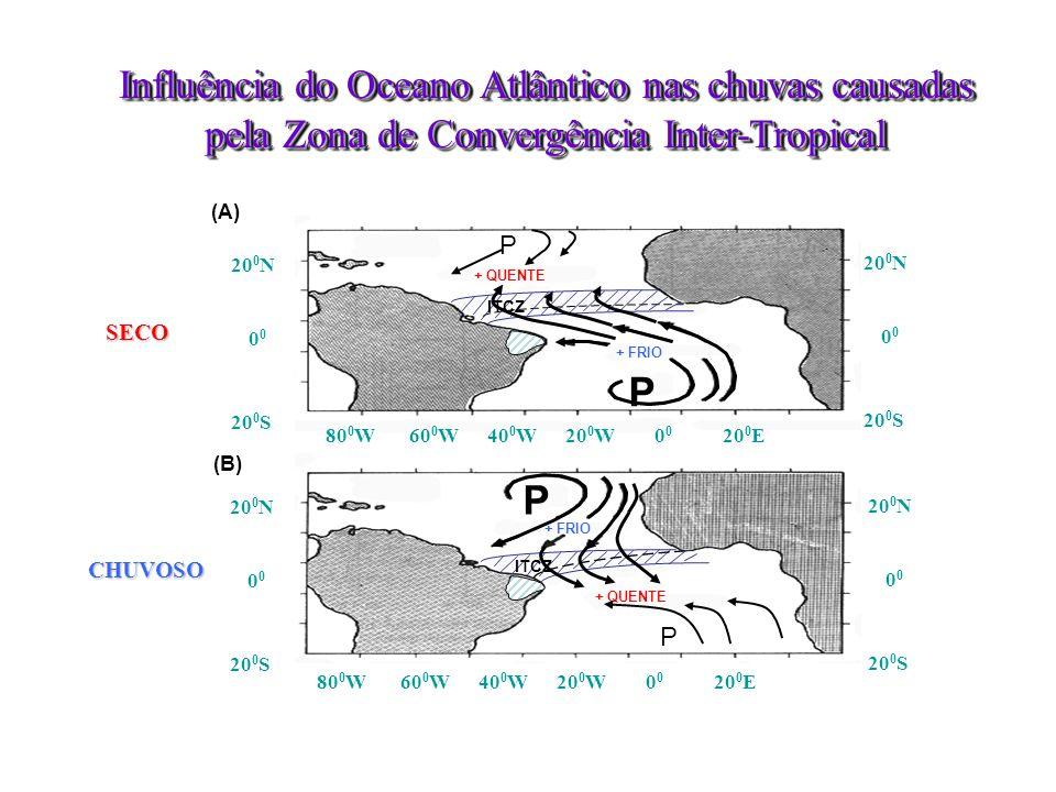 –Monitoramento: •uso de fotos de satélite, •radares meteorológicos, •medidores de chuvas (pluviômetros) e de condições atmosféricas, •medidores de condições dos oceanos (bóias no Pacifico e no Atlântico – Projeto PIRATA); –Previsão: uso de modelos matemáticos para previsão do tempo para até duas semanas no futuro; TEMPO: curto prazo - Compartilhamento de dados, modelos e tecnologias: previsões realizadas em conjunto com institutos nacionais e internacionais: Instituto Nacional de Pesquisas Espaciais – Centro de Pesquisas de Tempo e Clima (INPE – CPTEC), Instituto Nacional de Meteorologia (INMET), Instituto Internacional de Pesquisas de Clima e Sociedade (IRI) – Univ.