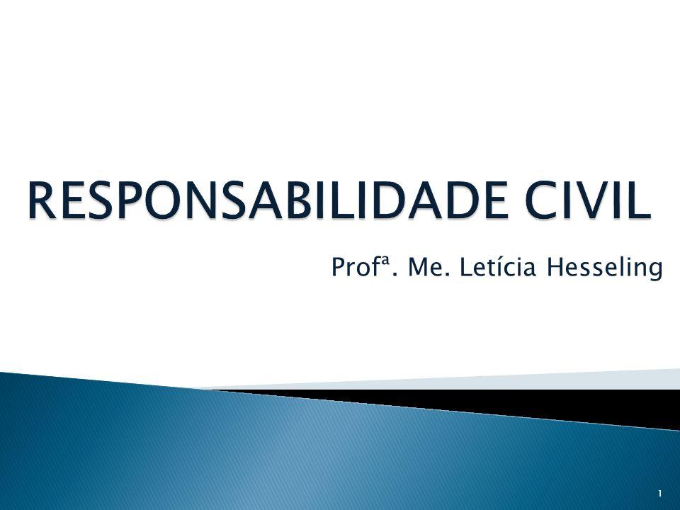Profª. Me. Letícia Hesseling 1