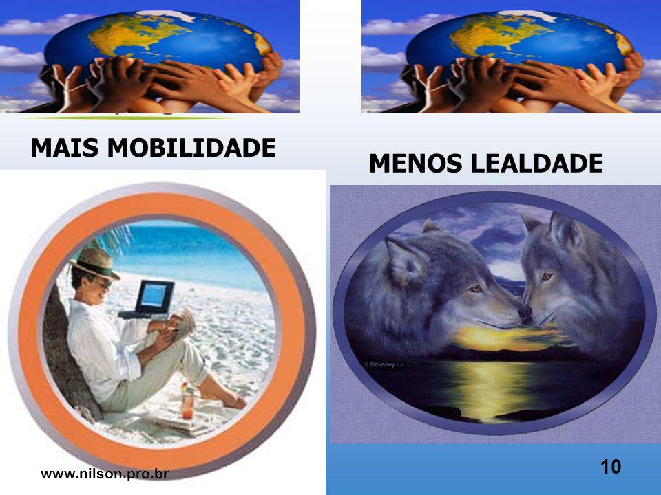 MAIS GLOBAL MENOS LOCAL 9 www.nilson.pro.br