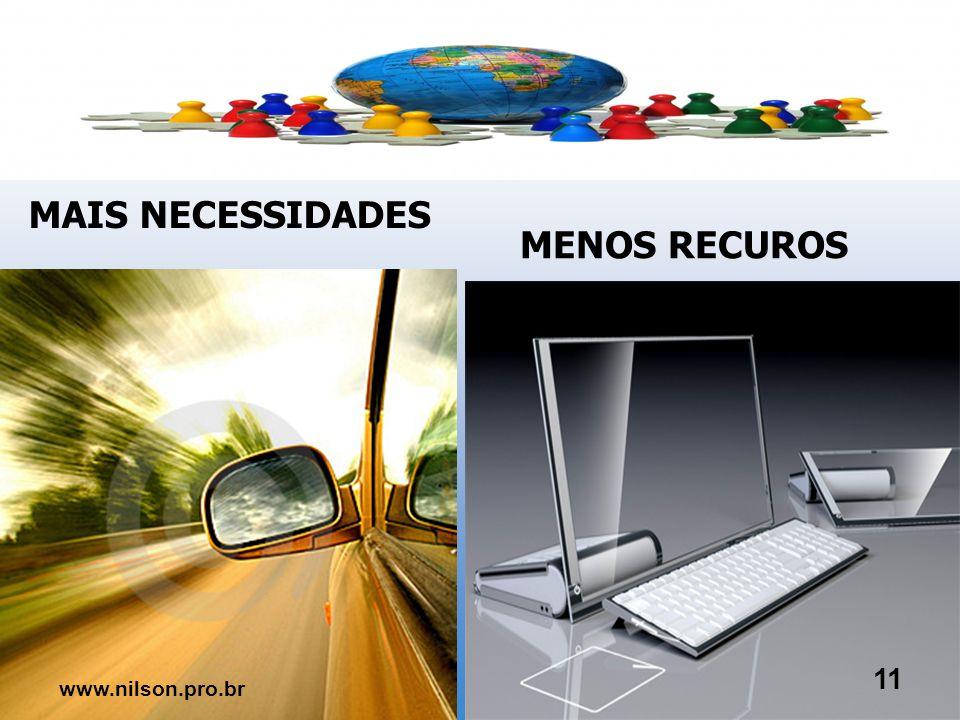 MAIS MOBILIDADE MENOS LEALDADE 10 www.nilson.pro.br