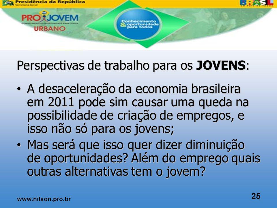 Crise para alguns Oportunidades para outros 24 www.nilson.pro.br