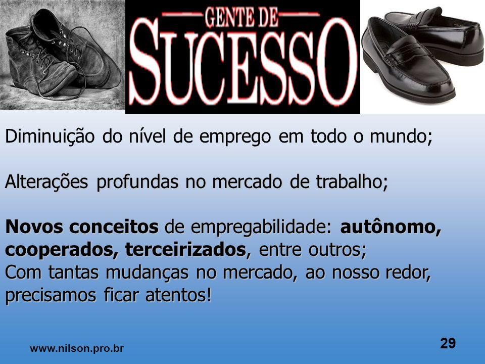 www.nilson.pro.br 28 Porque o Empreendedorismo é importante