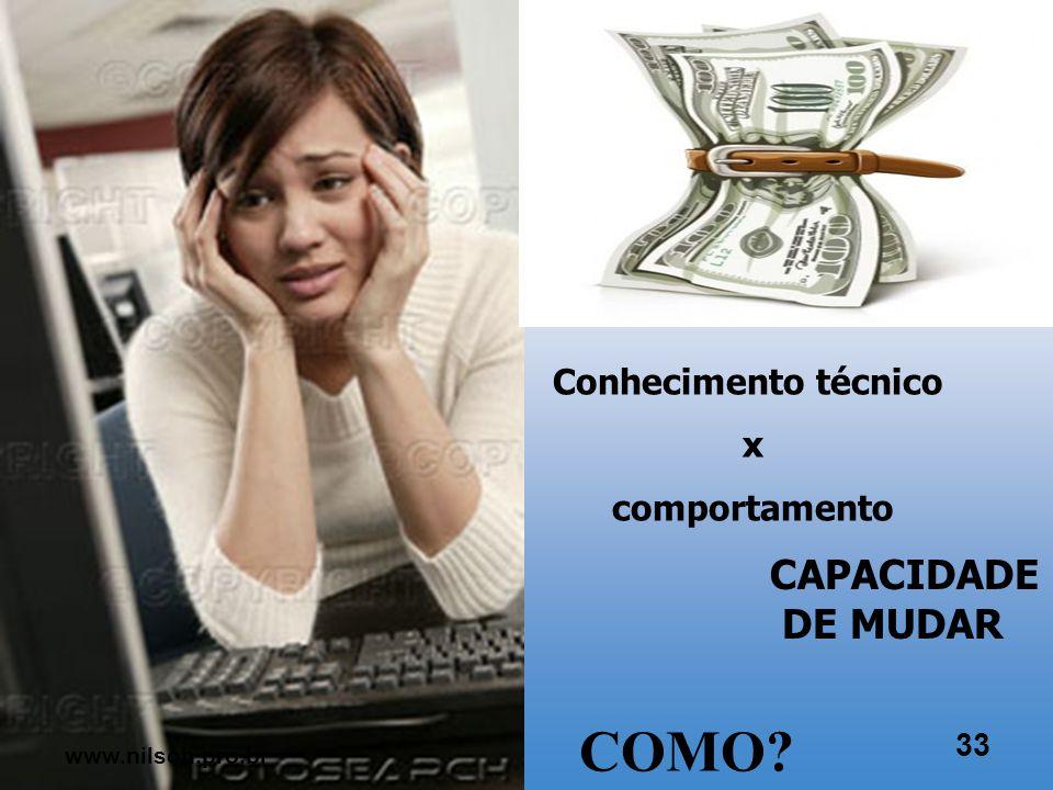 Maior preocupação com pessoas 32 www.nilson.pro.br