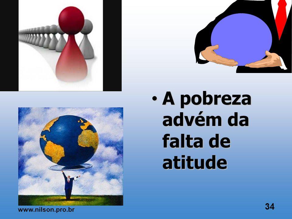 Conhecimento técnico x comportamento CAPACIDADE DE MUDAR COMO? 33 www.nilson.pro.br