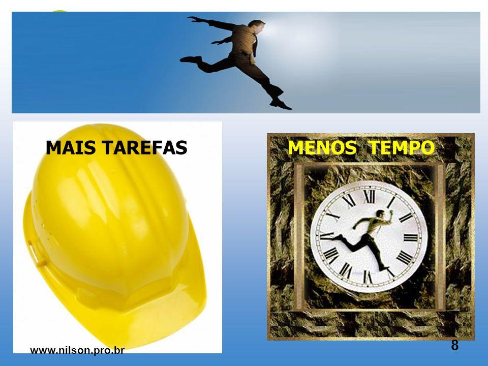 MAIS TECNOLOGIA MENOS PESSOAS 7 www.nilson.pro.br
