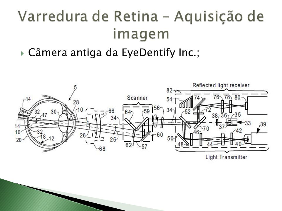  Câmera antiga da EyeDentify Inc.;