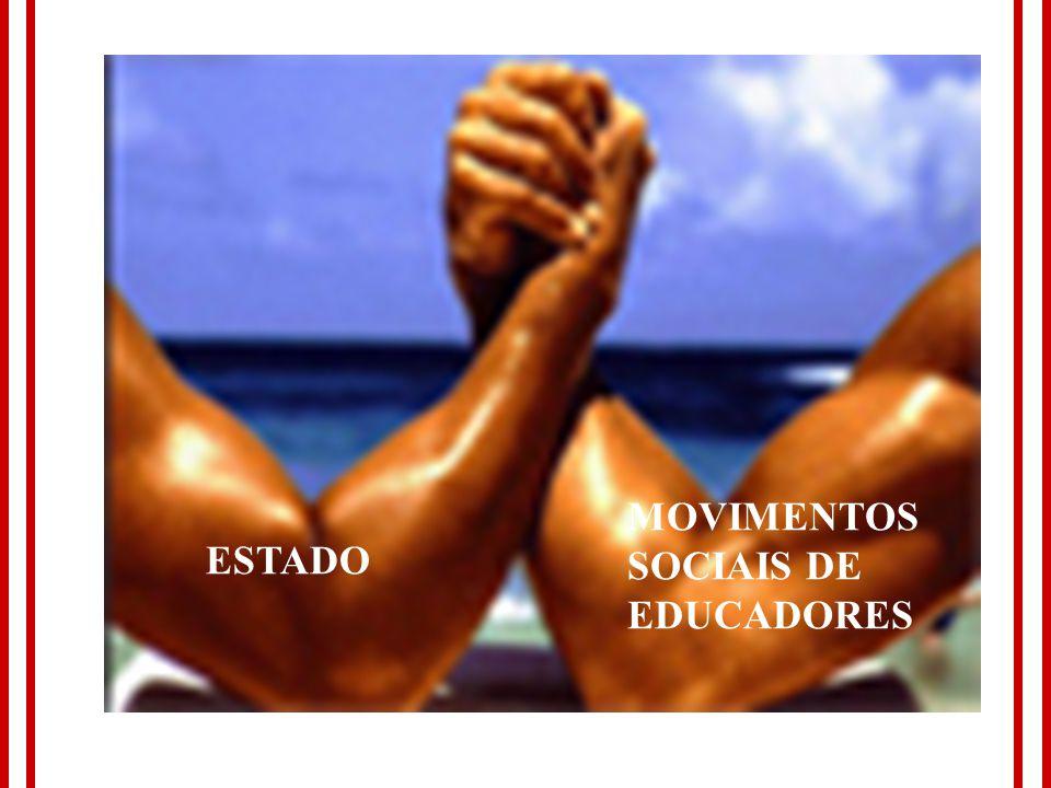 MOVIMENTOS SOCIAIS DE EDUCADORES ESTADO