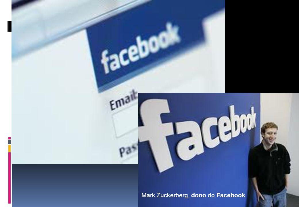 Mark Zuckerberg, dono do Facebook
