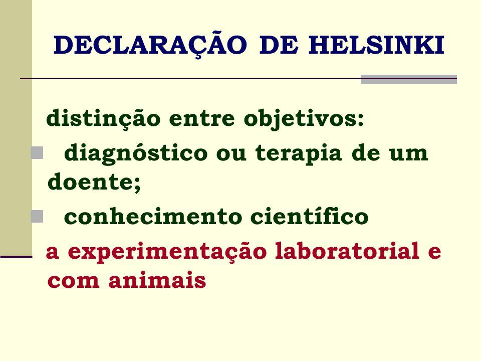 1978 The Nacional Commission for the Protection of Human Subjects Relatório Belmont o pensamento bioético