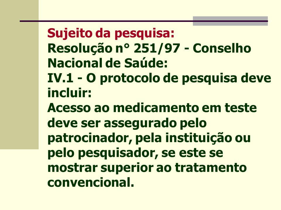 Sujeito da pesquisa Consentimento Livre e Esclarecido termo autorizando sua participação voluntária Vulnerabilidade autodeterminação reduzida
