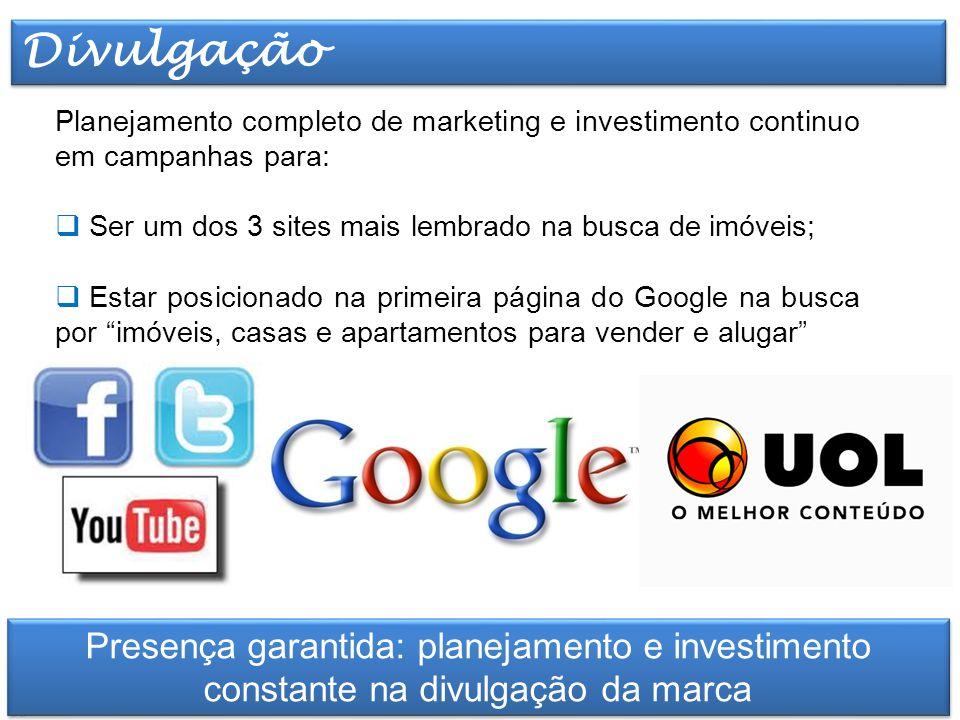 Elaborado por TT Marketing Planejamento completo de marketing e investimento continuo em campanhas para:  Ser um dos 3 sites mais lembrado na busca d