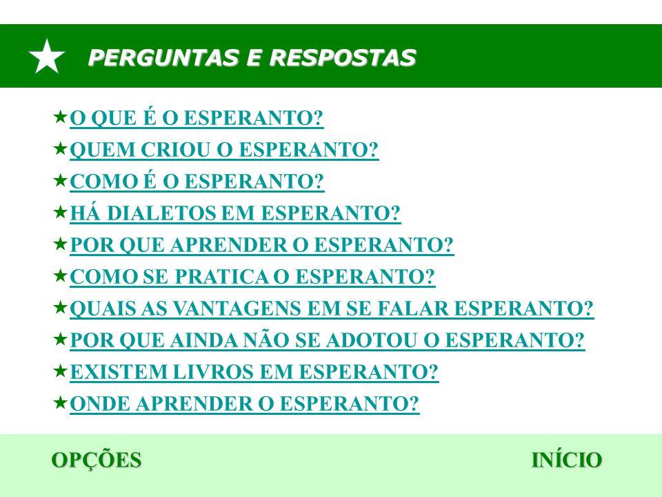 OPÇÕES INÍCIO 6.