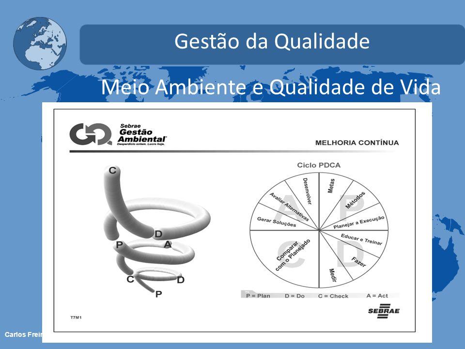 Carlos Freire - 2013 Meio Ambiente e Qualidade de Vida Gestão da Qualidade